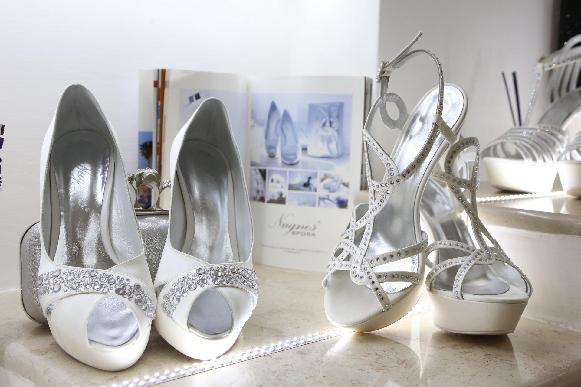 Scarpe e coordinati sposa