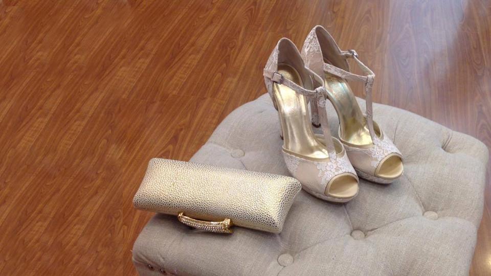 scarpe e pochette